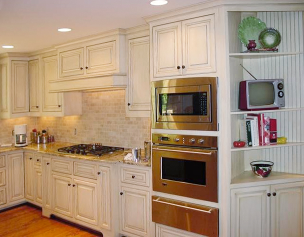 Kitchen cabinets with glaze - Painted Amp Glazed Cabinets